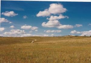 Clouds-Custer battlefield- Montana-summer 1987