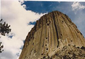 Clouds-Devil's Tower, South Dakota, 1987