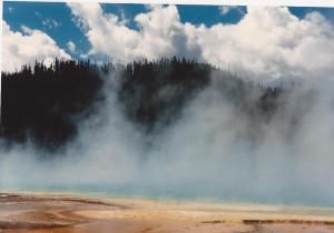 Clouds-Yellowstone, Colters Hell- summer 1987