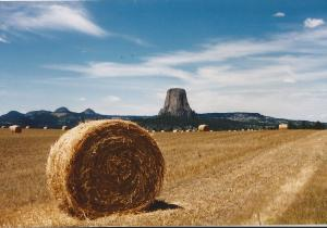 Devils Tower Wyoming 1987