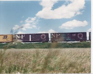 North Dakota - Gavin Yard outside Minot 1970's