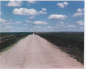 North Dakota Road 1970's near Minot