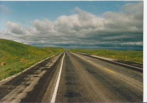 North Dakota road 1987