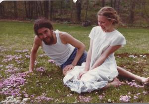 summer dream the carpet of grass  and little flowers