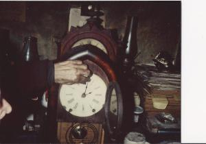 the hands of time for the blind man...