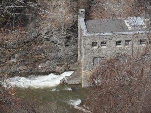 hydro plant from long ago in the gorge