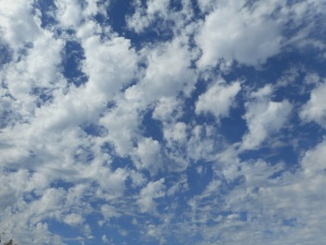 a gallery of clouds proves once again it is all about change!