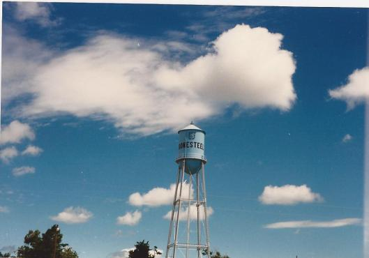 Clouds-Bonesteel, South Dakota, summer 1987