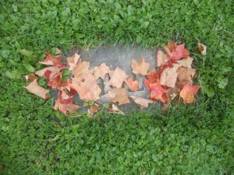 walking-along-through-autumn-naturally-arranged-a-few-leaves-on-a-grave
