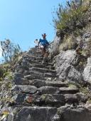 peru-here-is-paul-from-london-coming-down-the-stairs-from-the-peak-of-machu-picchu-mountain-we-had-met-him-at-la-playa-with-a-group-that-was-doing-the-salkantay-trek-the-same-time-we-were