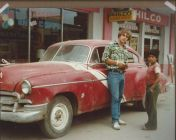 Jonathan Fischer, in Ciudad Mante, Mexico 1978 with Chevy ... Mexico like Cuba at this time was a car heaven for 1950 era vehicles!