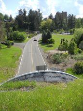 Cornell Botanic Gardens from Judd Falls Rd.
