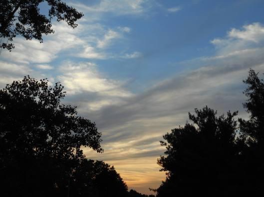 sky weaving