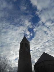 Cornell clocktower for whom the bell tolls...