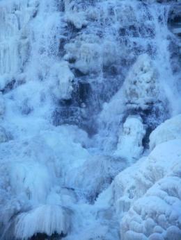 Ithaca Falls 1-28-15..