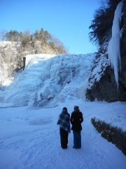 Ithaca Falls looked today...1-28-15--